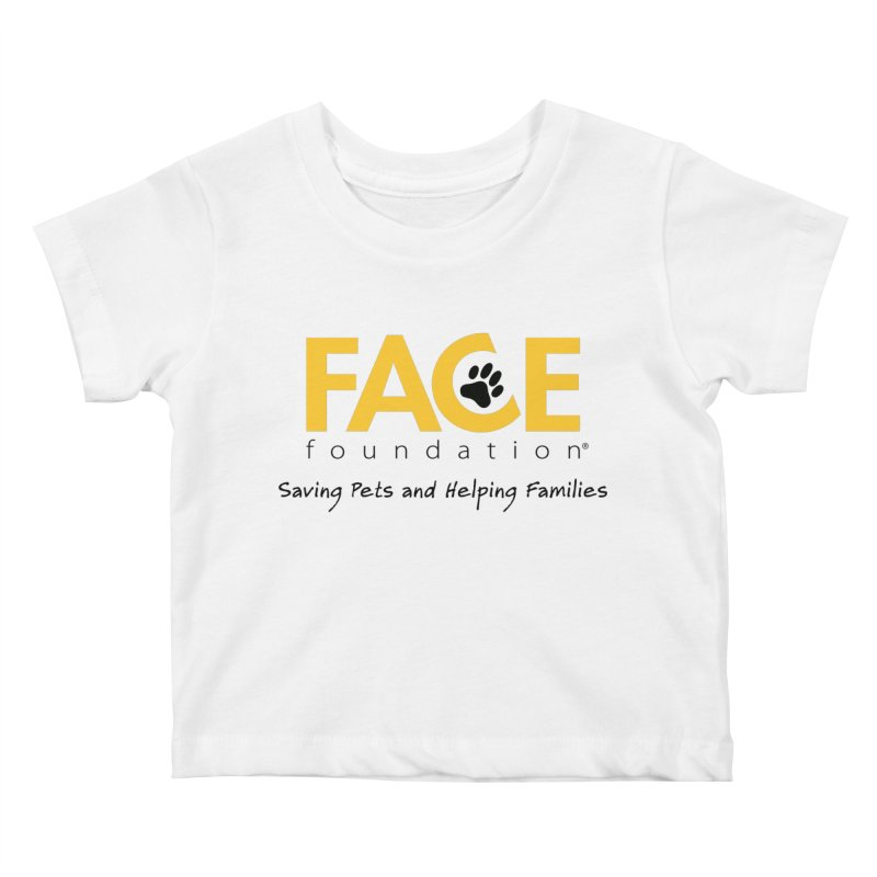 Kids Kids Baby T-Shirt by FACE Foundation's Shop