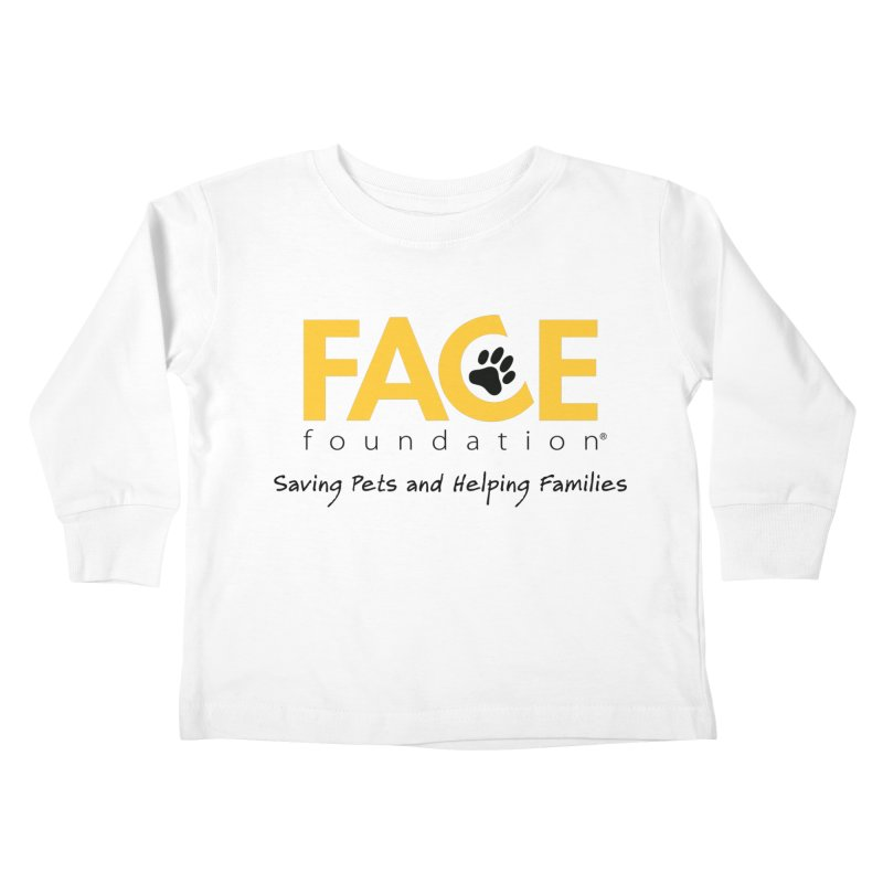 Kids Kids Toddler Longsleeve T-Shirt by FACE Foundation's Shop