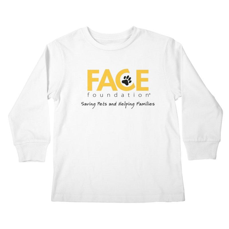 Kids Kids Longsleeve T-Shirt by FACE Foundation's Shop
