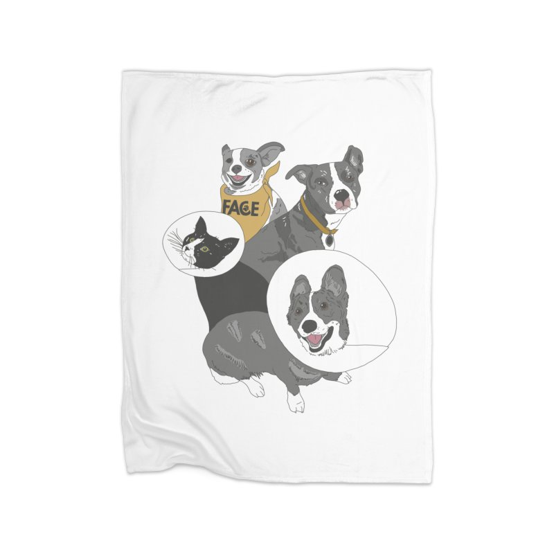 FACE Crew Home Fleece Blanket Blanket by FACE Foundation's Shop