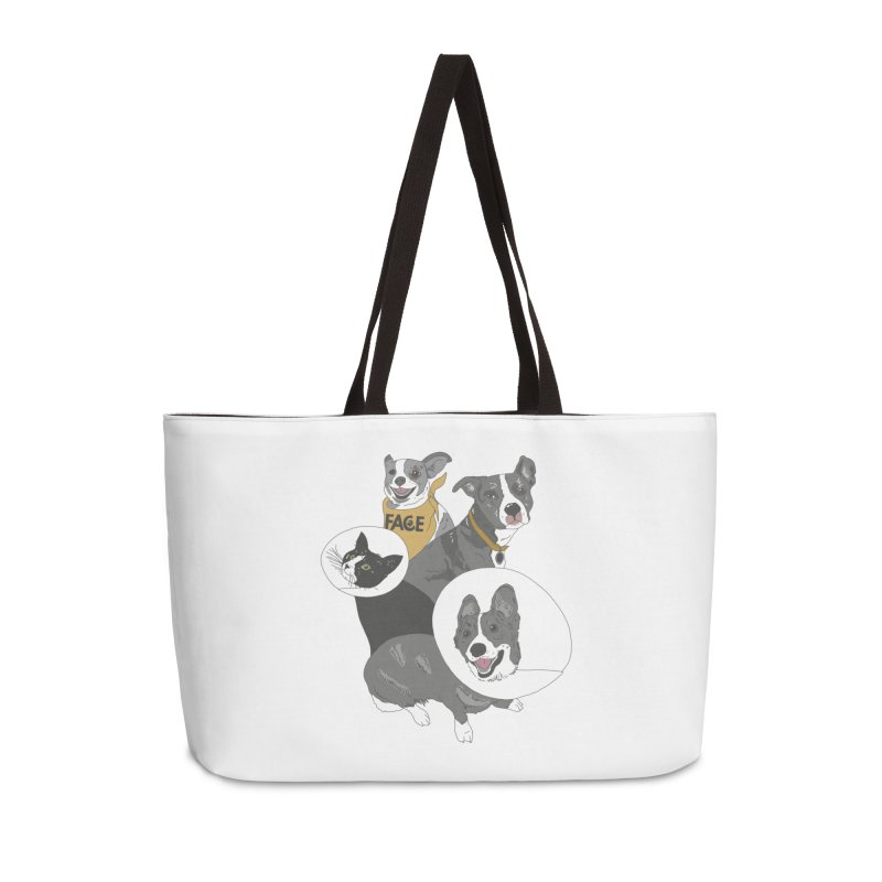 FACE Crew Accessories Weekender Bag Bag by FACE Foundation's Shop