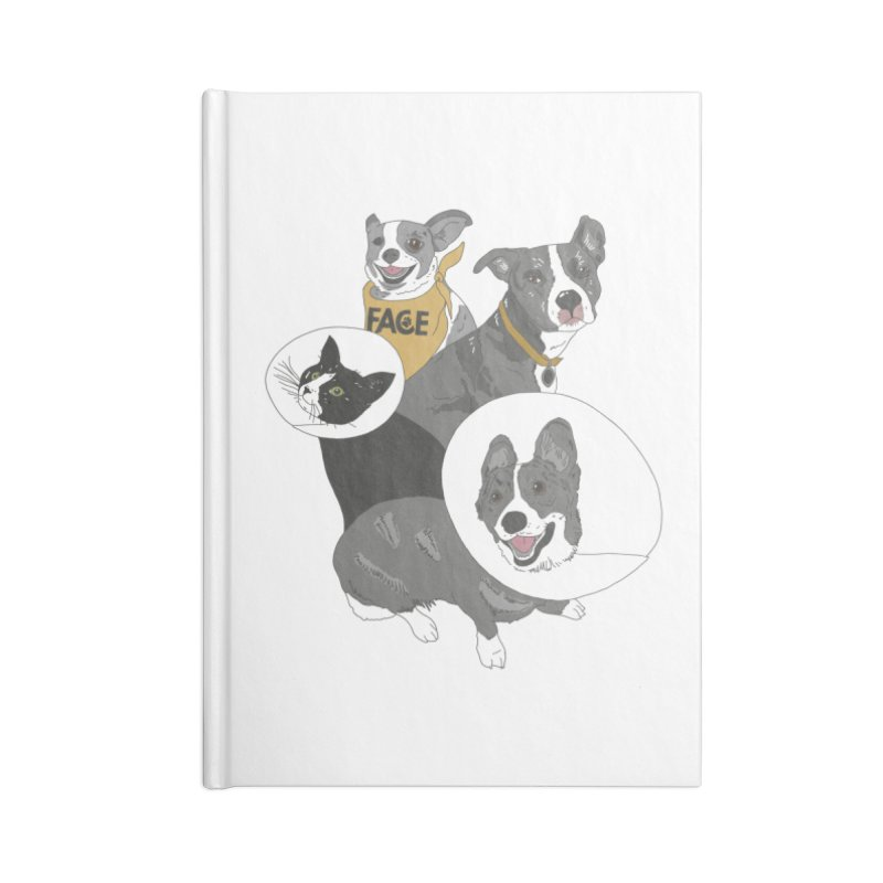FACE Crew Accessories Blank Journal Notebook by FACE Foundation's Shop