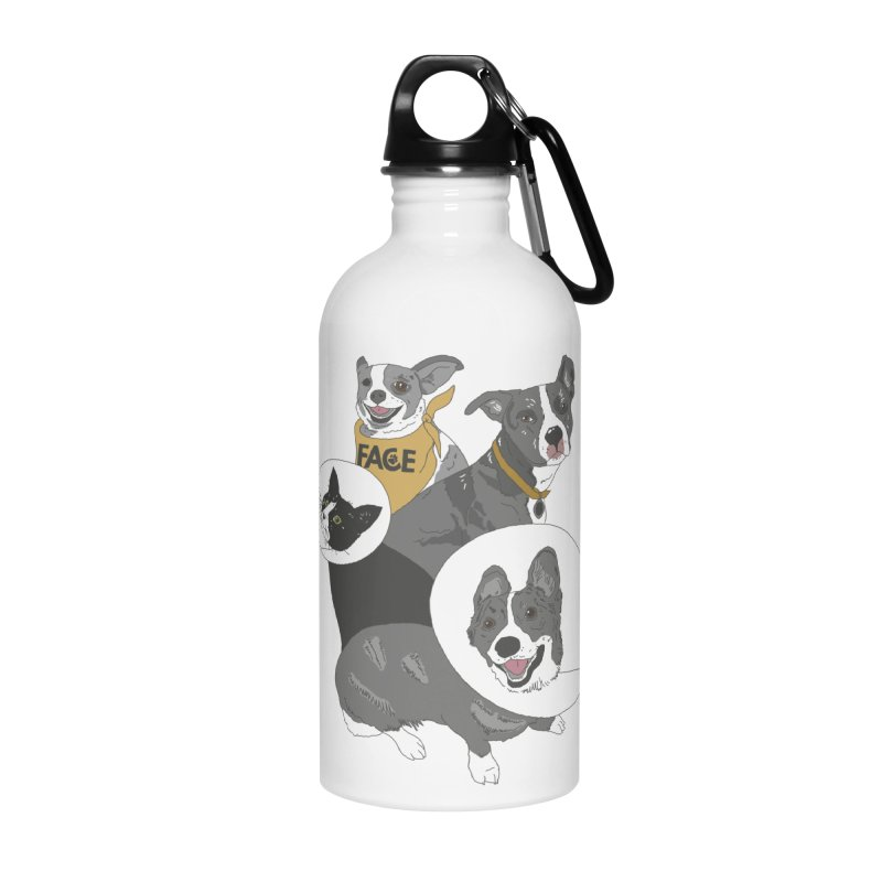FACE Crew Accessories Water Bottle by FACE Foundation's Shop