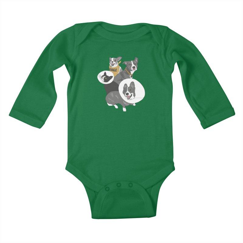 FACE Crew Kids Baby Longsleeve Bodysuit by FACE Foundation's Shop