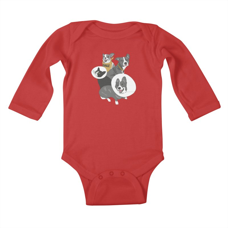 FACE Crew Kids Baby Longsleeve Bodysuit by FACE Foundation's Shop