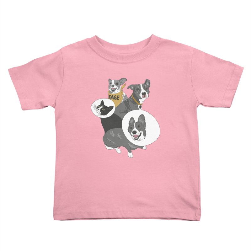 FACE Crew Kids Toddler T-Shirt by FACE Foundation's Shop