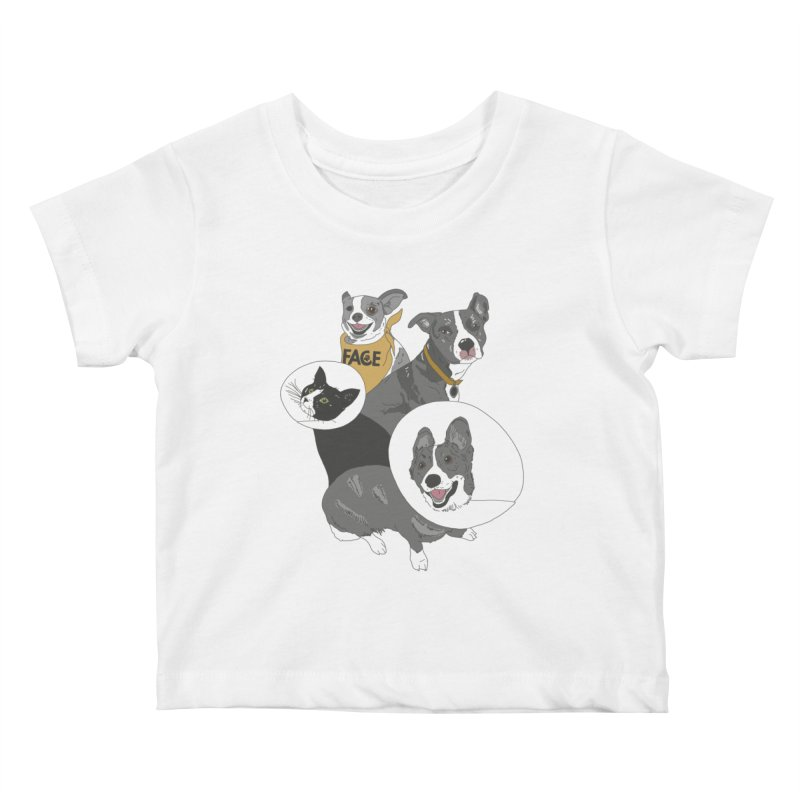 FACE Crew Kids Baby T-Shirt by FACE Foundation's Shop