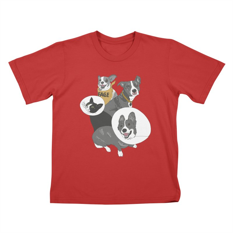 FACE Crew Kids T-Shirt by FACE Foundation's Shop