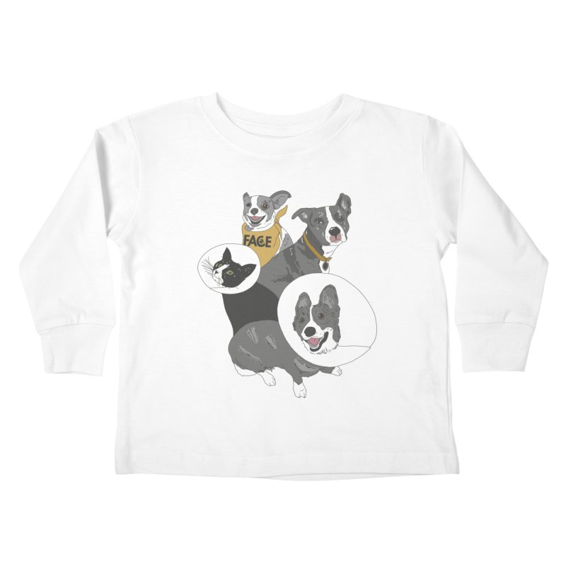 FACE Crew Kids Toddler Longsleeve T-Shirt by FACE Foundation's Shop