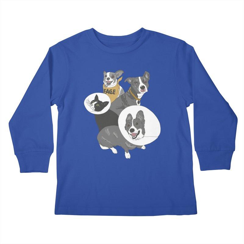 FACE Crew Kids Longsleeve T-Shirt by FACE Foundation's Shop