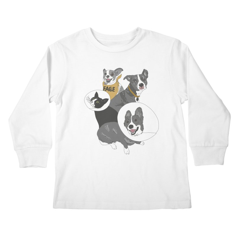 FACE Crew Kids Longsleeve T-Shirt by FACE Foundation's Shop