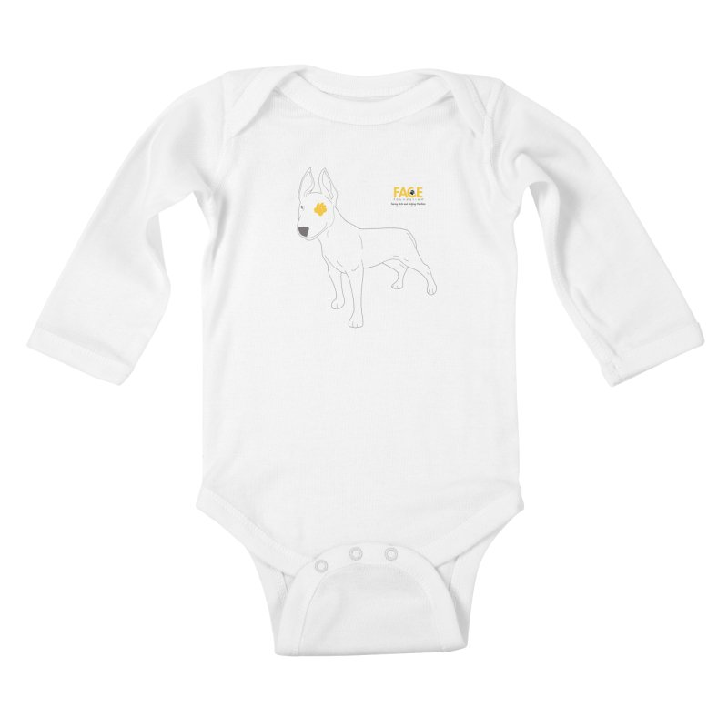 Aldo Kids Baby Longsleeve Bodysuit by FACE Foundation's Shop