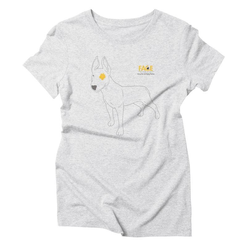 Aldo Women's Triblend T-Shirt by FACE Foundation's Shop