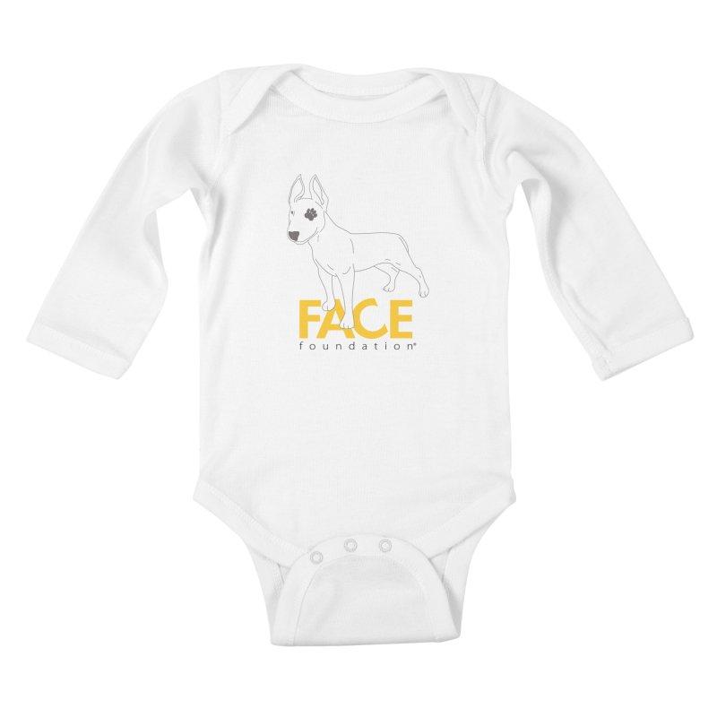 Aldo 2 Kids Baby Longsleeve Bodysuit by FACE Foundation's Shop