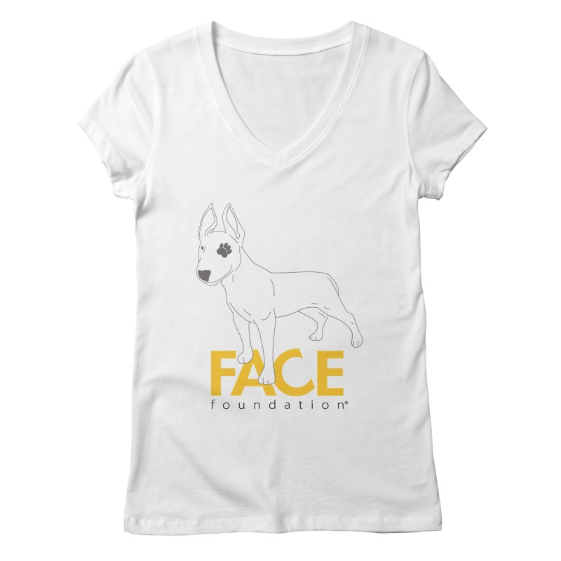 Aldo 2 Women's Regular V-Neck by FACE Foundation's Shop
