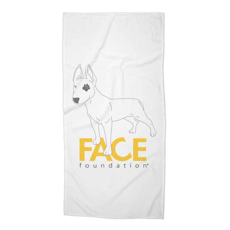 Aldo 2 Accessories Beach Towel by FACE Foundation's Shop
