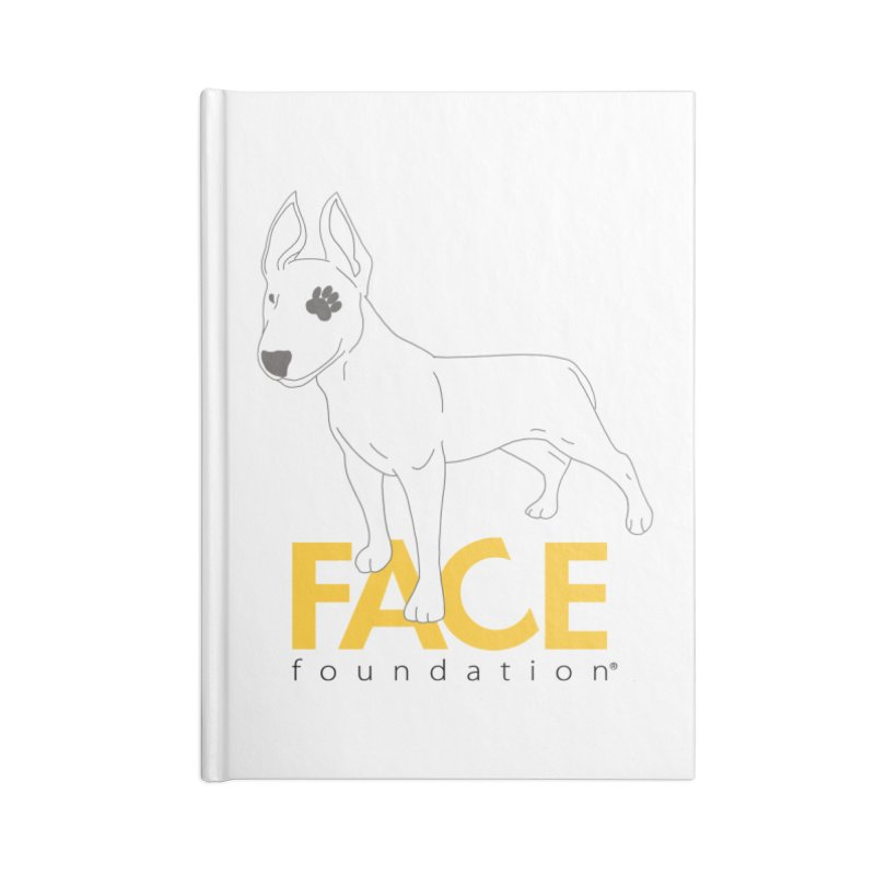Aldo 2 Accessories Blank Journal Notebook by FACE Foundation's Shop