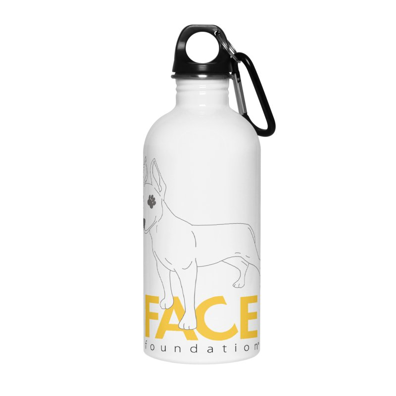 Aldo 2 Accessories Water Bottle by FACE Foundation's Shop