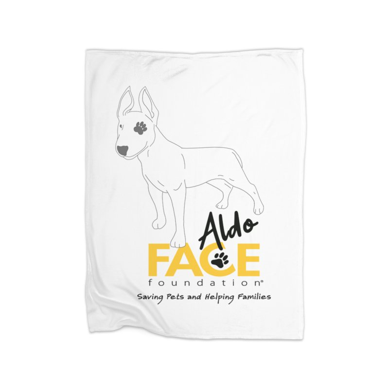 Aldo 3 Home Fleece Blanket Blanket by FACE Foundation's Shop