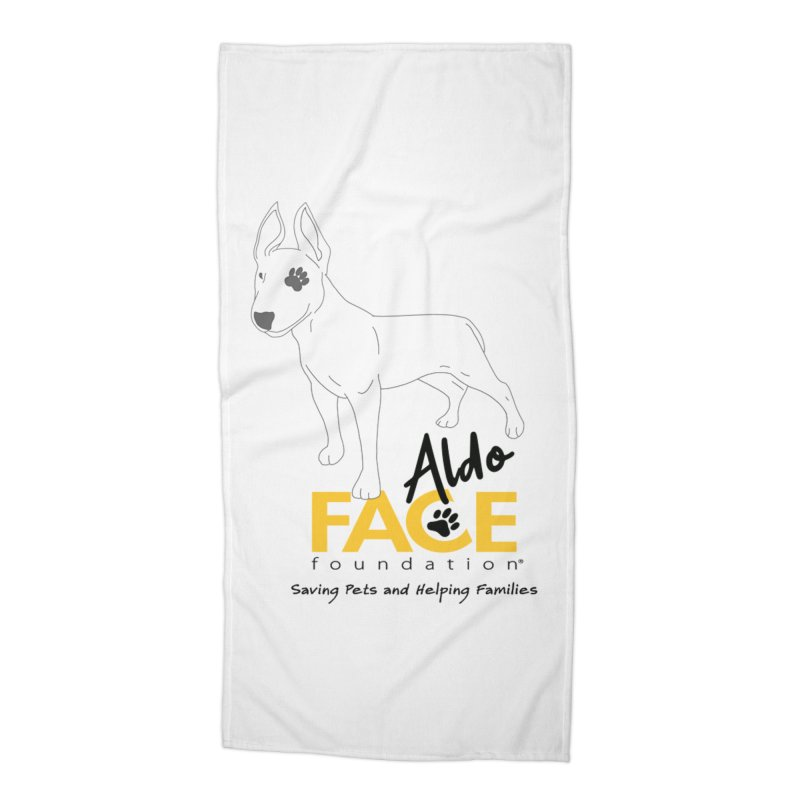 Aldo 3 Accessories Beach Towel by FACE Foundation's Shop