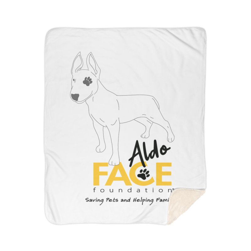 Aldo 3 Home Sherpa Blanket Blanket by FACE Foundation's Shop