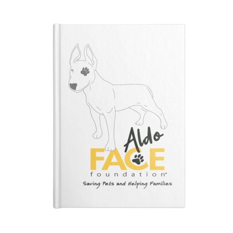 Aldo 3 Accessories Lined Journal Notebook by FACE Foundation's Shop
