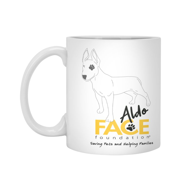 Aldo 3 Accessories Standard Mug by FACE Foundation's Shop