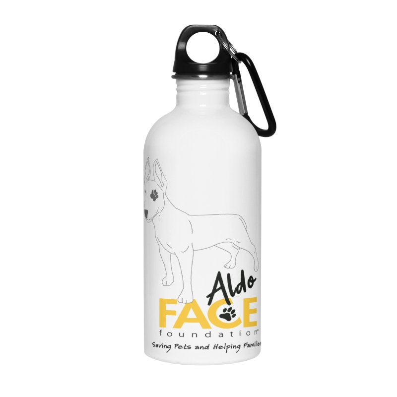 Aldo 3 Accessories Water Bottle by FACE Foundation's Shop