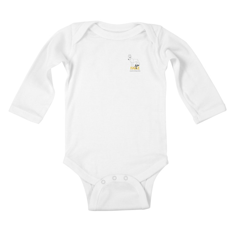 Aldo 3 Kids Baby Longsleeve Bodysuit by FACE Foundation's Shop
