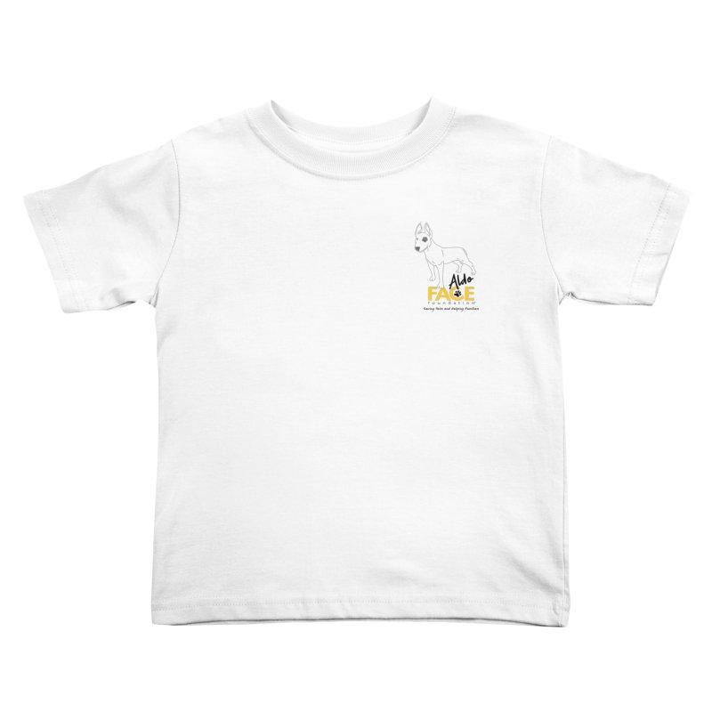 Aldo 3 Kids Toddler T-Shirt by FACE Foundation's Shop