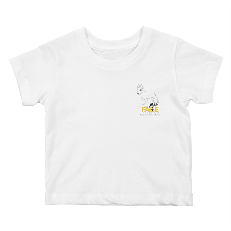 Aldo 3 Kids Baby T-Shirt by FACE Foundation's Shop