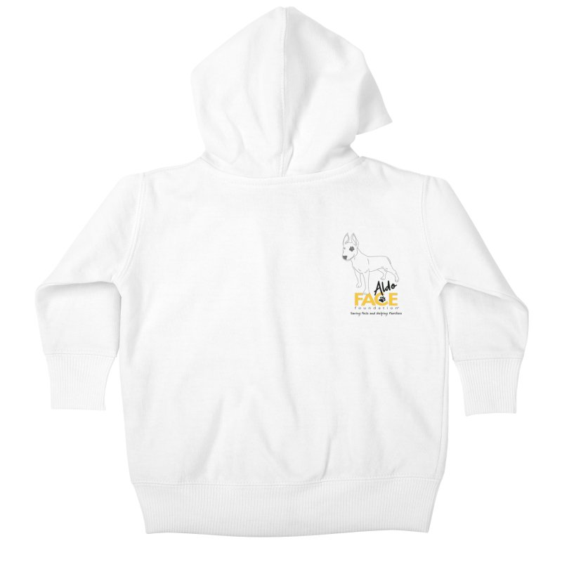 Aldo 3 Kids Baby Zip-Up Hoody by FACE Foundation's Shop