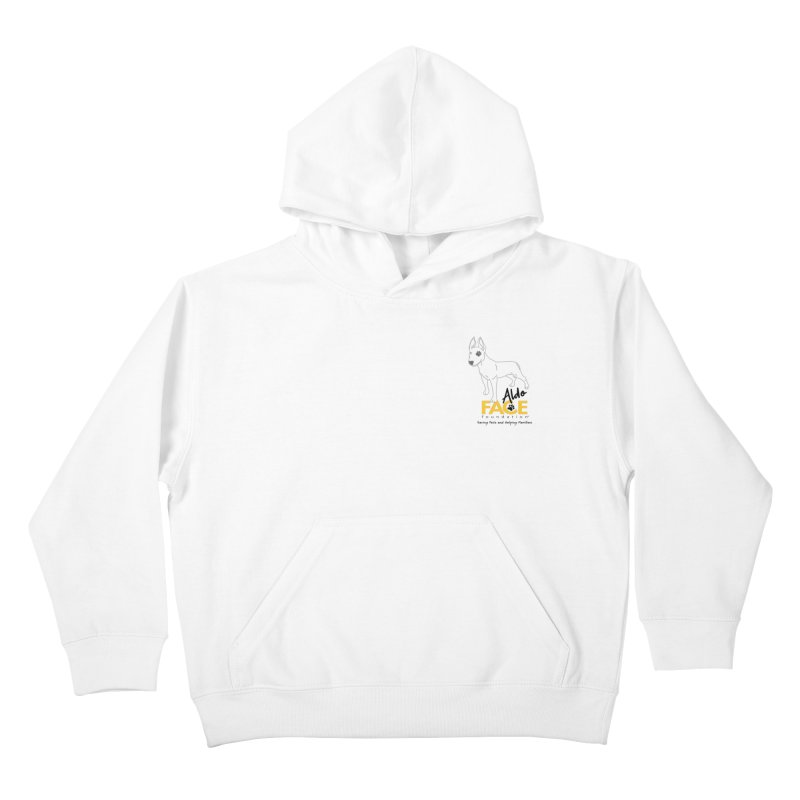 Aldo 3 Kids Pullover Hoody by FACE Foundation's Shop