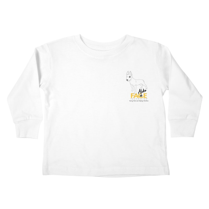 Aldo 3 Kids Toddler Longsleeve T-Shirt by FACE Foundation's Shop