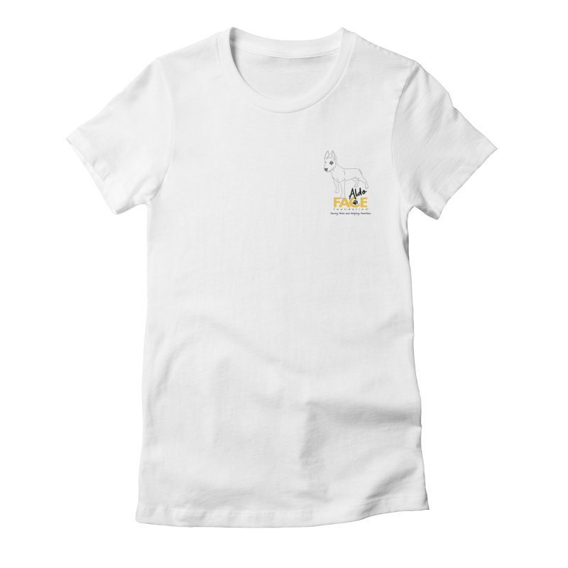 Aldo 3 Women's Fitted T-Shirt by FACE Foundation's Shop