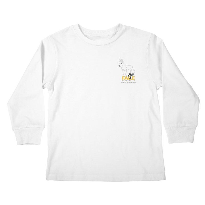 Aldo 3 Kids Longsleeve T-Shirt by FACE Foundation's Shop