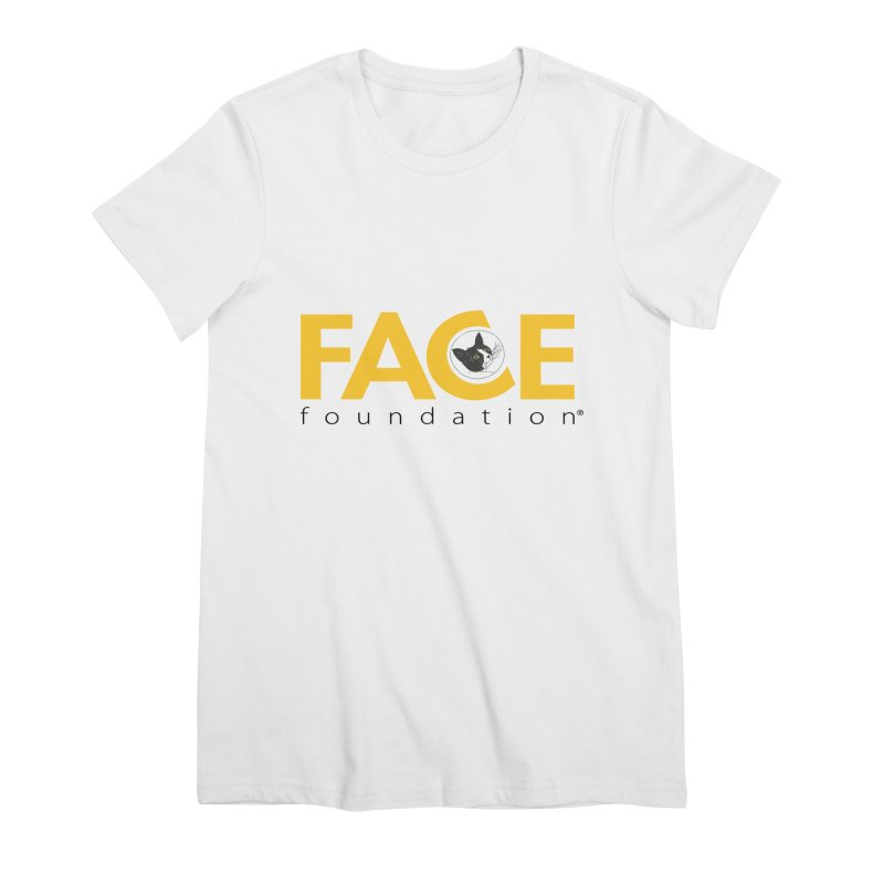 FACE Kitty Logo Women's Premium T-Shirt by FACE Foundation's Shop