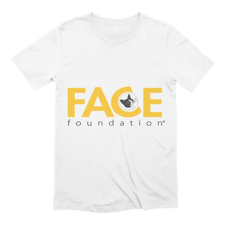 FACE Kitty Logo Men's Extra Soft T-Shirt by FACE Foundation's Shop