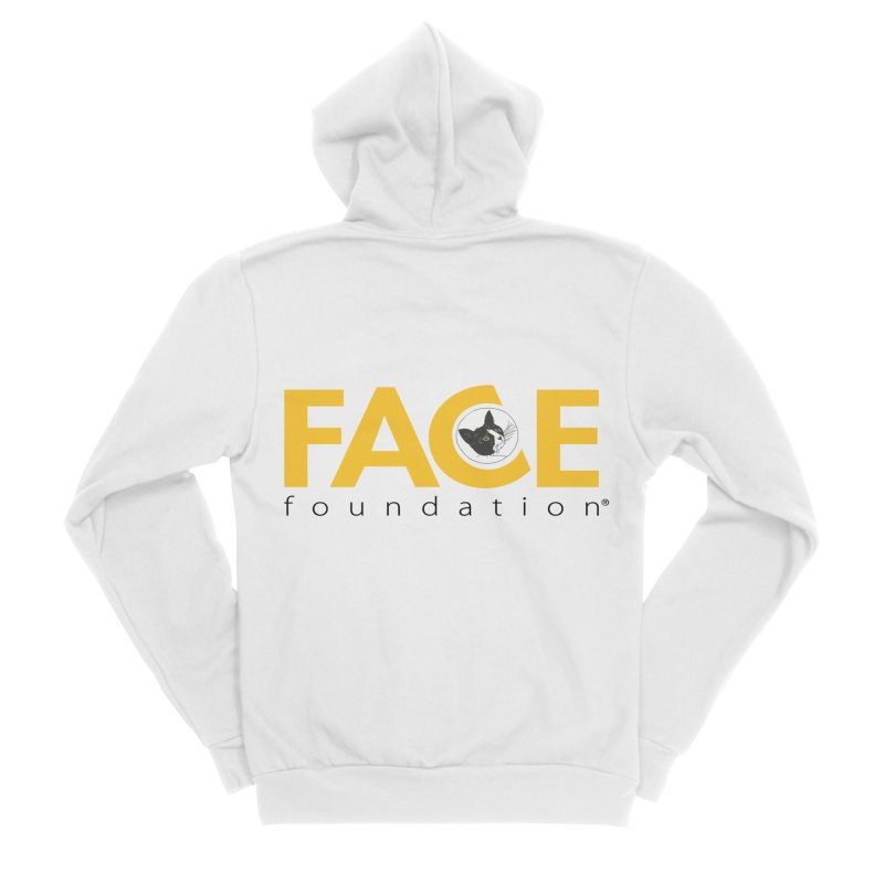 FACE Kitty Logo Men's Sponge Fleece Zip-Up Hoody by FACE Foundation's Shop