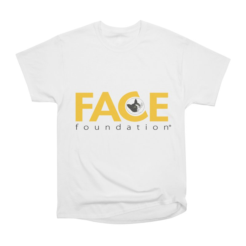 FACE Kitty Logo Men's Heavyweight T-Shirt by FACE Foundation's Shop