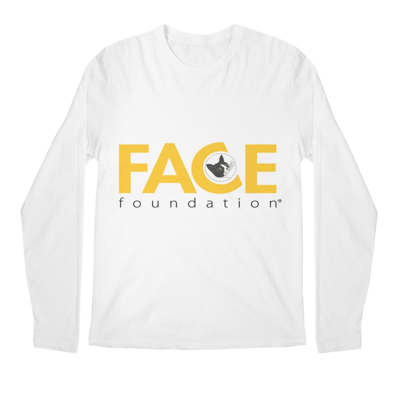 FACE Kitty Logo Men's Regular Longsleeve T-Shirt by FACE Foundation's Shop