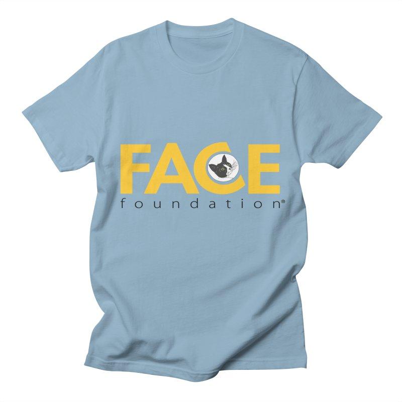 FACE Kitty Logo Men's Regular T-Shirt by FACE Foundation's Shop