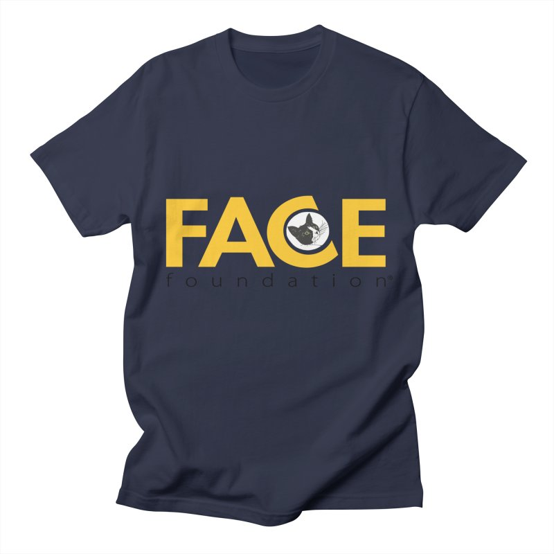 FACE Kitty Logo Men's Regular T-Shirt by FACE Foundation's Shop