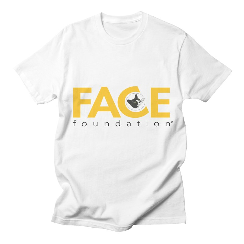 FACE Kitty Logo Women's Regular Unisex T-Shirt by FACE Foundation's Shop