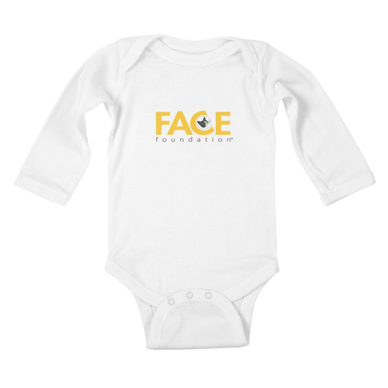 FACE Kitty Logo Kids Baby Longsleeve Bodysuit by FACE Foundation's Shop