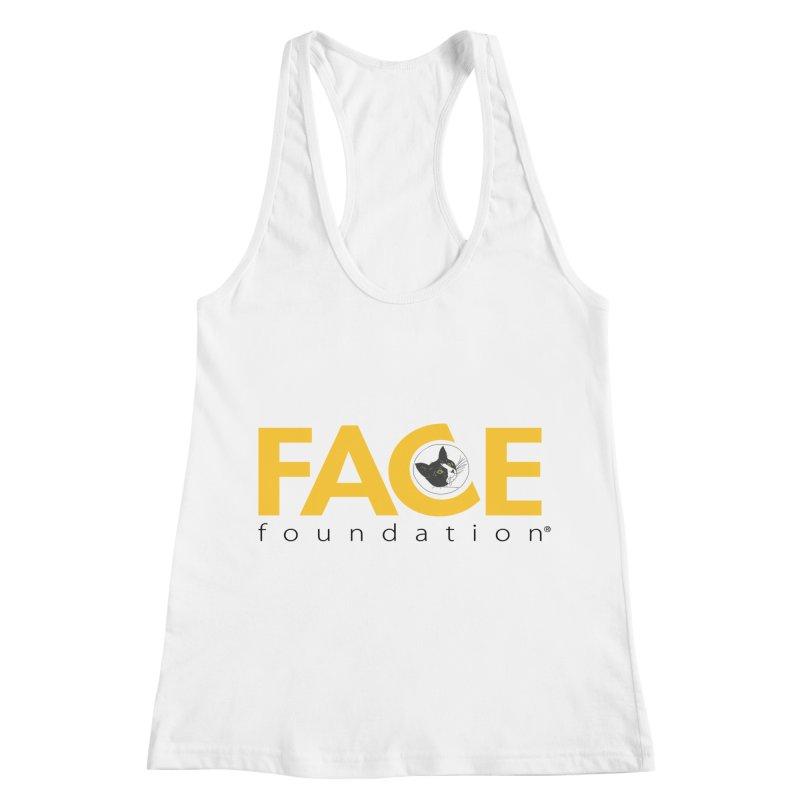 FACE Kitty Logo Women's Racerback Tank by FACE Foundation's Shop