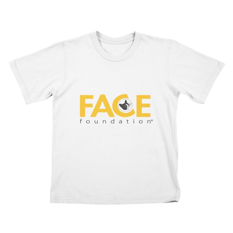 FACE Kitty Logo Kids T-Shirt by FACE Foundation's Shop