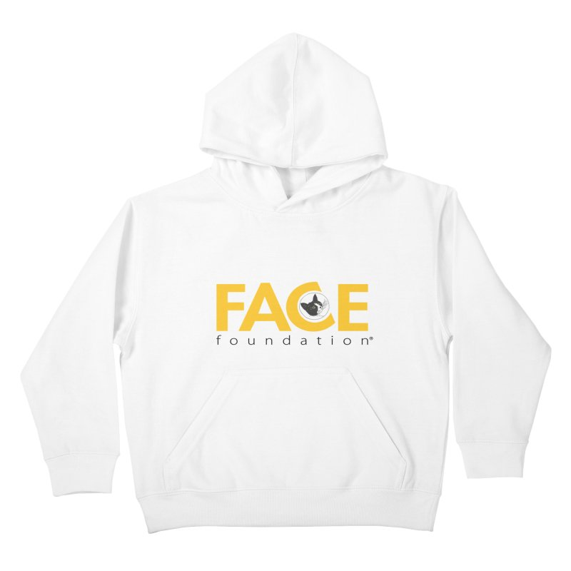 FACE Kitty Logo Kids Pullover Hoody by FACE Foundation's Shop