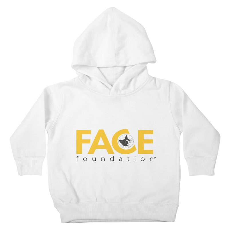 FACE Kitty Logo Kids Toddler Pullover Hoody by FACE Foundation's Shop
