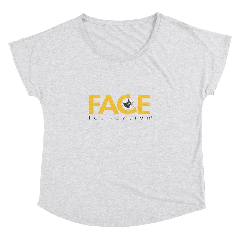 FACE Kitty Logo Women's Dolman Scoop Neck by FACE Foundation's Shop